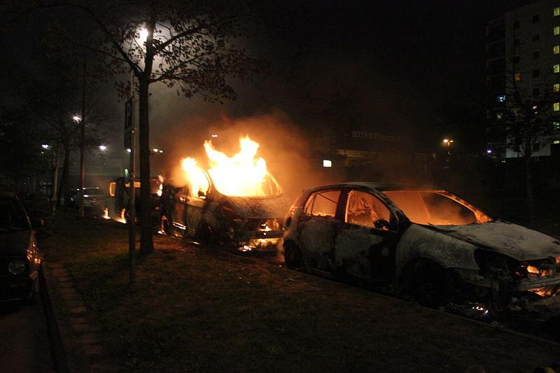 Stockholm riots trump